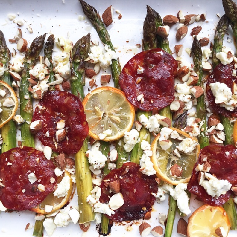 food_revolution_foodstand_jamie_oliver_asparagus_chorizo_lemon_recipe
